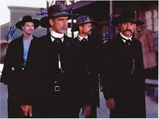 TOMBSTONE  8 x 10 REPRINT PHOTO & REPRINT AUTOGRAPH ON GLOSSY PHOTO PAPER