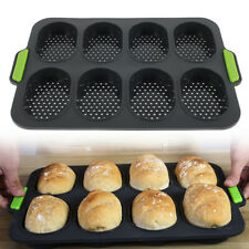 Silicone Non-stick Cake Bread Baking Mould Bakeware Tray Loaf Pan Tins UK Stock