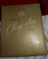 2 Pairs Seamless Nylons Stockings Honey Shapely Sears Cling-Alon Box B 10-11 +#3
