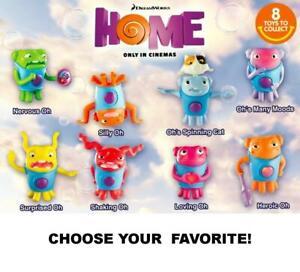 McDonald's 2015 DreamWorks Home! Alien Oh Toys-Pick Your Favorite!