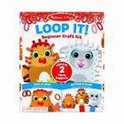 Melissa  Doug Loop It Farm Puppets Beginner Craft Kit 30194