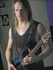 Steve Morse Signature Ernie Ball Music Man guitar 1995 pin-up photo 8 x 11 print