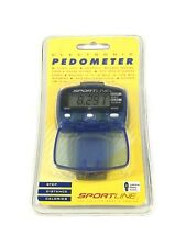 NEW in package Sportline Electronic Pedometer yoga workouts gym running