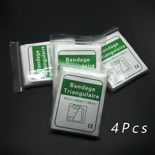 "4Pcs outdoor sport emergency first aid medical triangular bandage 38"" x 55"""