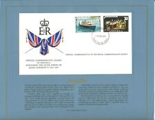 ANGUILLA 1977 QE2 SILVER JUBILEE SCARCE ROYAL SOCIETY FIRST DAY COVER