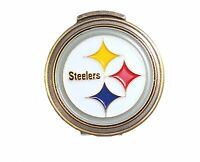 Pittsburgh Steelers Hat Clip with Golf Ball Marker