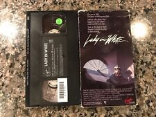 LADY IN WHITE VHS! VIRGIN 1988 Horror! Alice Sweet Alice The Entity Halloween