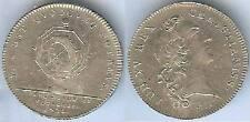 Jeton notaires - Coners du roy et notaires 1720 n° 298 LEROUGE silver 9 grammes