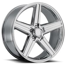4 BRAND NEW IROC 20X8.5 5x127 +10 CHROME WHEELS CHEVROLET PONTIAC OLDSMOBILE