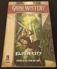 Gamemastery MAP PACK ELVEN CITY PZO4016 Paizo Pathfinder Cards D&D Shrink SW NEW