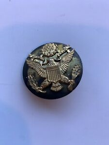 Original Ww2 US Army Medal Hat Cap Device Insignia Screw Back Enlisted Man