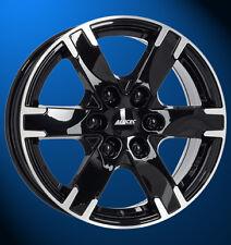 Alutec Titan 7.5 X 17 6 X 130 55 diamant-schwarz frontpoliert VW Crafter Mod. I
