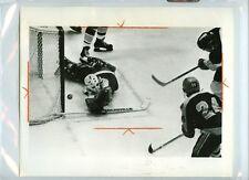 RICK HEINZ 1979-80 CHL CINCINNATI STINGERS vs SALT LAKE EAGLES 8x10 PRESS PHOTO
