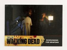 2011 CRYPTOZOIC THE WALKING DEAD SEASON ONE BASE CARD #21 SCROUNGING FOR WEAPONS