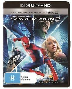 The Amazing Spider-Man 2 (4K Ultra HD + Blu-ray), NEW SEALED AUSTRALIAN BNIP