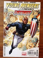 Young Avengers Presents 1 Patriot First Print Ed Brubaker Paco Medina VG/FN
