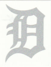 REFLECTIVE Detroit Tigers 2 inch fire helmet decal sticker RTIC window