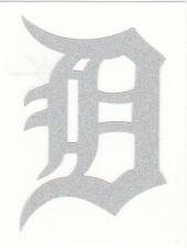 REFLECTIVE Detroit Tigers 2 inch fire helmet decal sticker yeti window