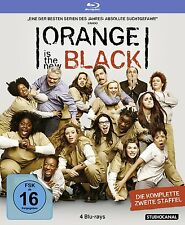 Orange is the new Black - 2 Staffel - 4 Blu Ray Box