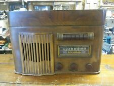 RCA Victor Record Player Tube Radio Parts Or Repair Model V 102