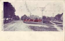 pre-1907 MAIN ST., HONESDALE, PA. North Park to Right 1906