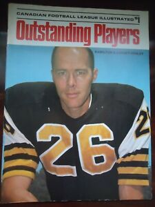 1973 CFL Canadian football Outstanding Players Edmonton Montreal