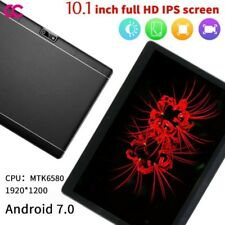 """10.1"""" 64G Tablet PC Android 7.0 Octa Core 2Ghz 10 Inch WIFI 2SIM 4G Phablet hh"""
