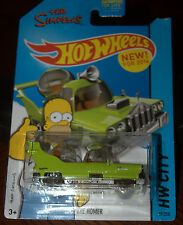 2014 Hot Wheels  The Homer  Clear Glass Variaton New Model Card #89  HW49-110118