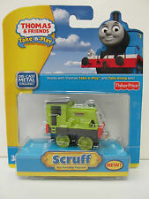 TAKE n PLAY Die-Cast SCRUFF Metal Thomas Tank Engine Fisher Price Along