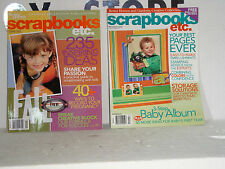 SCRAP BOOKS ECT. MAGS FOR SCRAPBOOKING