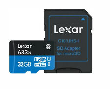 Lexar High-performance 633x 95mb/s Micro SD 32gb Class 10 SDHC 32 G GB MicroSD