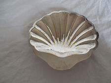 Silver footed shell bowl Pegaso Mexico #1241