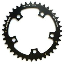 Stronglight Dural 5083 9/10 Speed Chainring 110mm Bcd Black All Sizes