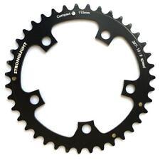 Stronglight dural 5083 negro 110bcdmm Shimano compacto cadena 50t