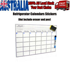 Monthly Fridge Calendar Magnetic board Family Organiser Memo Planner