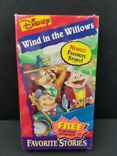 Walt Disney Mini Classics Wind In The Willows Favorite Stories Storybook VHS