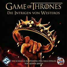 Game of Thrones: Intrigen von Westeros HBO Edition | Kartenspiel