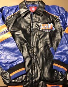 NFL Official Super Bowl XLI South Florida 2-04-07 Lined Jacket New W/Tags Medium