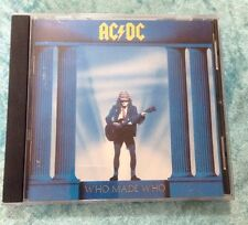 Who Made Who [Remaster] by AC/DC (CD, Jun-1986, Atco (USA))