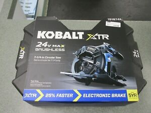 Kobalt XTR 24v Max Brushless Saw 7-1/4 - 24v  1518744