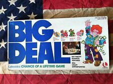Vintage 1977 Toy Board Game BIG DEAL By Lakeside Games