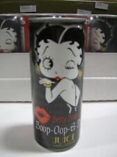 Betty Boop Boop-Oop-A-Doop Juice Energy Drink 1 Unopened Can  (8.4 oz)