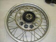 Honda XR250 1980 Rear Wheel with Brake Plate OEM Used