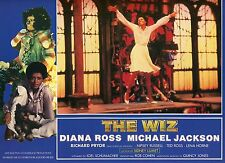 DIANA ROSS MICHAEL JACKSON THE WIZ 1970 VINTAGE PHOTO FRENCH LOBBY CARD N°5 MINT