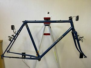 1985 Trek 830 True Temper AT lugged steel mountain bicycle frame fork 21 in
