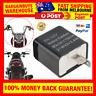 Motorcycle LED Flasher Relay 2 Pin Turn Signal Indicator Blinker Relay