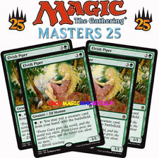 MTG 4 X ELVISH PIPER - Flautista élfica - MASTERS 25 ENGLISH Magic