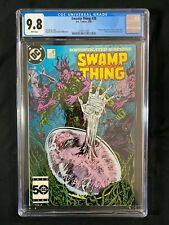 """Swamp Thing #39 CGC 9.8 (1985) - 1st with new title """"Swamp Thing"""""""