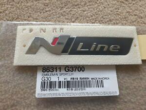 HYUNDAI OEM Genuine Parts Fender & Trunk N Line Emblem Badge 86311-G3700 Sydney