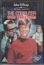 The Computer Wore Tennis Shoes - Kurt Russell New & Sealed Disney UK R2 DVD